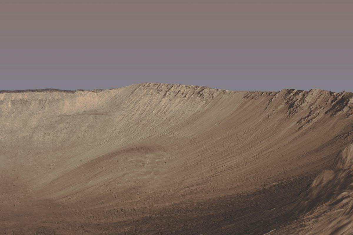 Tivat Crater